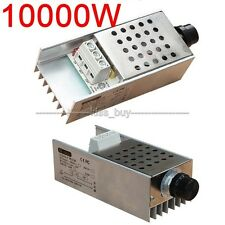AC110-220V 10000W SCR Voltage Regulator Motor Speed Controller Dimmer Thermostat