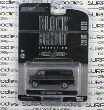 GREENLIGHT 1:64 Black Bandit Series 16 1986 CHEVROLET Chevy G20 G-20 Van
