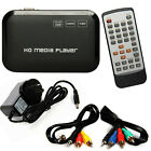 Full HD 1080P HDMI Media Player Center TV HDD MKV SD USB MP4 RM RMVB MPEG AVI