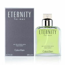 Eternity For Men By Calvin Klein 6.7oz/200ml Eau De Toilette Spray Men's Cologne