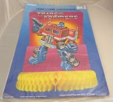 Vintage Transformers Honeycomb Party Decoration, MIP