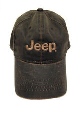 Jeep Bronze Weathered Cotton Twill Hat