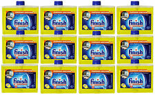 12 Pk Finish Dishwasher Machine Cleaner Citrus Fresh Scent Odor Remover 8.45 Oz