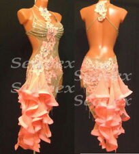 U2294 ballroom women chacha rumba Latin samba salsa dance dress tutu Custom made