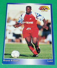 BRUNO N'GOTTY FOOTBALL CARD 1994-1995 PANINI OLYMPIQUE LYON OL GERLAND