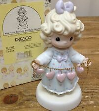 Precious Moments Figurine You Have Touched So Many Hearts Girl String 261084