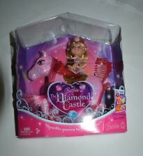 BARBIE THE DIAMOND CASTLE KELLY PINK WITH SPARKLE PONY M0798