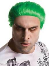 Da Uomo Squadra suicida Joker adulto Parrucca Costume Accessorio Halloween Film cattivo