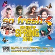 SO FRESH Hits Of Spring 2016 Katy Perry The Veronicas SEALED R4 CD