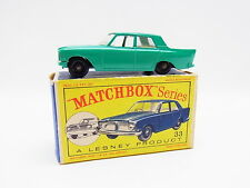 "LOT 33345 | Matchbox 33 B Ford Zephyr 6 PKW neuwertig in ""D""-Box"