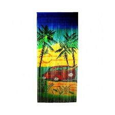 Bamboo Curtain Divider Bead Wall Hanging Room Patio Door Panel Porch Tropical