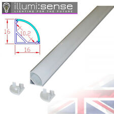 Corner LED Lighting Aluminium Profile Channel for LED Strip Lights 2 Meters