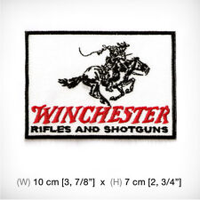 new WINCHESTER Embroidered Iron On Patch Sew. Rifles Shotguns Label Cowboy