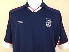 England National Soccer Team FIFA Adult XL Blue Umbro Jersey Football