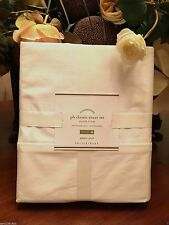 Pottery Barn CLASSIC 400-THREAD-COUNT SHEET SET, Ivory, QUEEN, New W/$149.00 tag