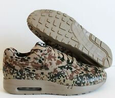 "NIKE AIR MAXIM 1 GERMANY SP BAMBOO-DARK KHAKI ""CAMO"" SZ 7 [623416-220]"