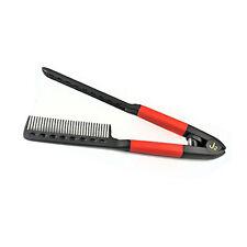 J2 Straightening Comb Flat Iron Hair Tools Styling Brush Straightener #DRE2250