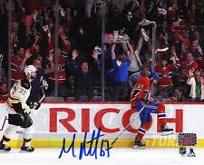 Max Pacioretty Montreal Canadiens Signed Autographed Celebration 8x10 Chara