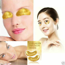 Gold Bio Collagen Eye Mask Face Neck Anti Ageing Wrinkle Skin Care Age Beauty