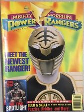 MIGHTY MORPHIN POWER RANGERS Magazine Winter 1995 White Ranger