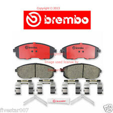 brembo Front Disc Pad Set for Cars without Brembo Brake System G35 Nissan 350Z
