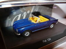 voiture1/43 STARLINE models : FIAT 124 SPIDER bleu