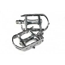 Velo Orange Road Bike Pedals Alloy body Chrome plated alloy cage only  267g