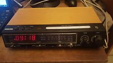 Philips radio alarm clock 90 AS 470 vintage from 70th