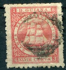 British Colonies British Guiana 1867 SG 104 48c crimson sound to good used