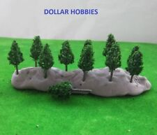 20 Pcs. 48mm Pine trees HO/N/Z Gauge Scale