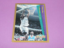 SHAQUILLE O'NEAL ORLANDO MAGIC SLAM DUNK FLEER 1993 92-93 NBA BASKETBALL CARD