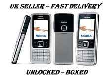 NOKIA 6300 SILVER BLACK NEW CONDITION UNLOCKED PHONE - BLUETOOTH – 2 MP CAMERA