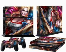 Custom Decals Stickers Skin for PS4 Playstation Console Controllers Harley Quinn