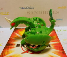 Bakugan Lythirus Green Ventus Gundalian Invaders DNA 800G & cards