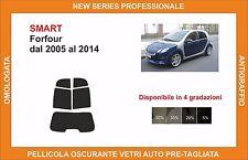 pellicola oscurante vetri pre tagliata smart forfour dal 2005-14 kit posteriore