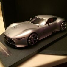 2015 MERCEDES BENZ AMG Vision Gran Turismo Concept Silver in 1/18 by Model 777