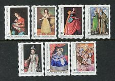 Guinea Bissau 553-559 MNH Paintings by Spanish Artists: Goya, Zurbaran,   x19436