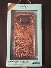 SAMSUNG GALAXY S8 Plus - KATE SPADE Glitter Is My Favorite Color Liquid Case