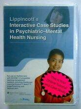 INTERACTIVE CASE STUDIES IN PSYCHIATRIC-MENTAL HEALTH NURSING CD-ROM Tutor NEW