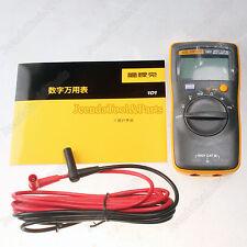 New FLUKE 101 Portable Handheld Digital Multimeter F101 FLUKE15B Smaller Version