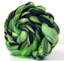 Rainforest Custom Blend Merino Wool Combed Top 100g for Spinning Felting Fibre