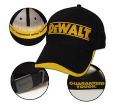 NEW DeWalt Power Tools/Racing Baseball Cap Hat - One Size Fits All