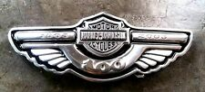 Harley Davidson Wing belt buckle 100 years great Motorcycle Rare