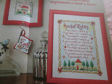 'House Proud' Jane Henderson cross stitch chart (only)