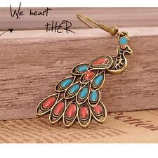 Fashion Vintage Dangle Peacock Earrings New
