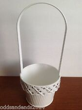 White Metal Basket from Edible Arrangements