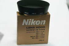 NIKON ORIGINAL HN-3 ALL METAL HOOD