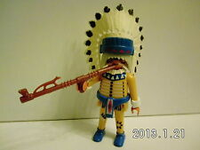 s134C-Playmobil - Indianer No5 - Häuptling