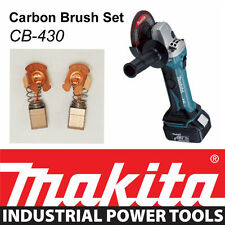 Makita 18V LXT Angle Grinder DGA452 DJV180 JIGSAW Genuine CARBON BRUSH SET CB430
