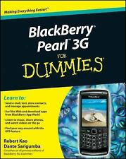 BlackBerry Pearl 3G For Dummies (For Dummies (Computer/Tech))